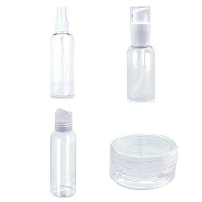 Portable 4 in 1 set Cosmetic Bottle Travel Make Up lotion Bottles Containers