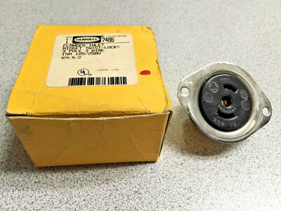 Hubbell 7486 Flanged Inlet Midget Twist Lock *New Quantity!!