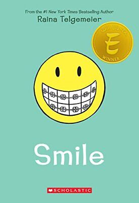 Smile by Raina Telgemeier Book The Cheap Fast Free Post