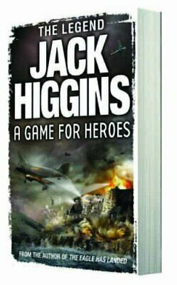 A Game for Heroes by Higgins, Jack Book The Cheap Fast Free Post