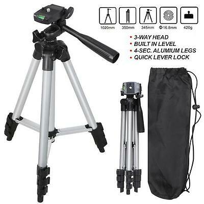 Universal Aluminum Portable Tripod Stand Camera Camcorder w/ Bag for Canon Nikon