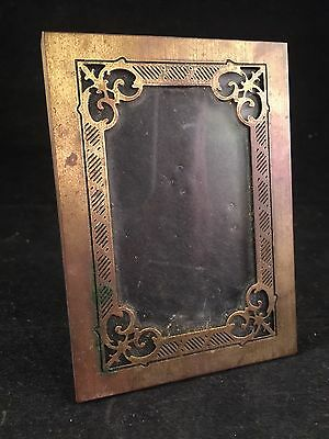 Vintage Hallmark Small Ornate Gold Frame With Stand