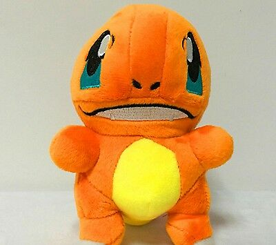 "2016 New Pokemon Center Plush Doll 7"" Charmander (Hitokage) Soft Animal"