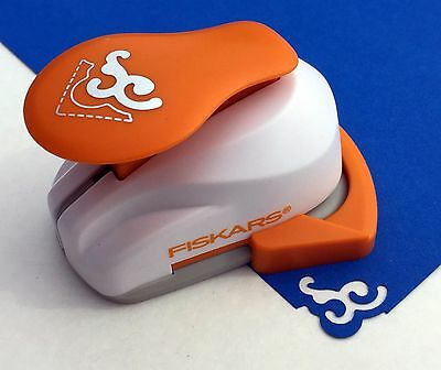 Fiskars SCROLL (New Style) Corner Lever Punch Scrapbook Paper Punch - NEW