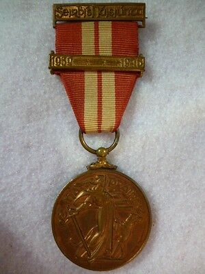 Ireland / Eire - Emergency Service Medal 1939 -1946 with clasp