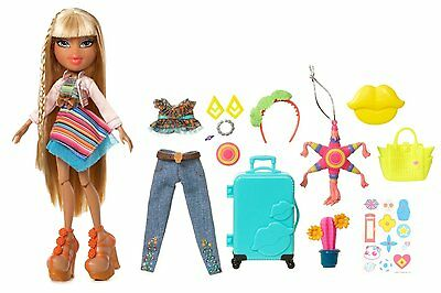 Bratz Study Abroad Raya to Mexico Doll Culture's Traditional Fashion Dolly Toy