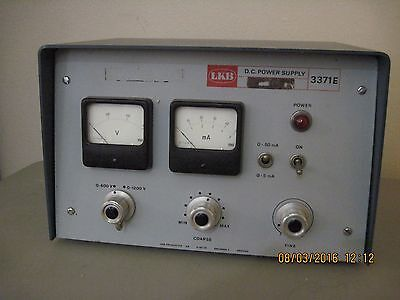 LKB 3371E Electrophoresis Variable High Voltage DC Power Supply