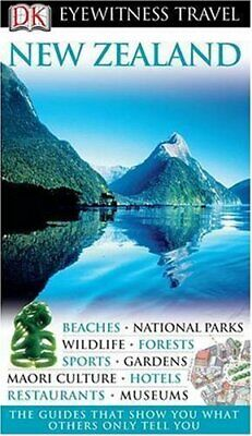 New Zealand (DK Eyewitness Travel Guide) Hardback Book The Cheap Fast Free Post