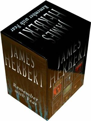 James Herbert Box Set by James Herbert Book Book The Cheap Fast Free Post