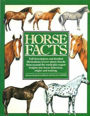 Horse Facts by McBane, Susan Hardback Book The Cheap Fast Free Post