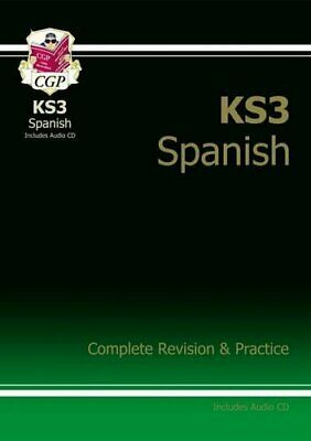 KS3 Spanish Complete Revision & Practice with Audio CD (CGP KS3 ... by CGP Books