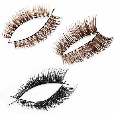 Fraulein3°8 20 paire faux cils dense volumineux croise naturel extension eyelash