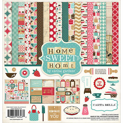 """""""Carta Bella Collection Kit 12""""""""X12""""""""-Home Sweet Home"""""""