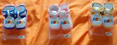 Doll / Baby Bootees = Age 3 to 6 months - Various Colours