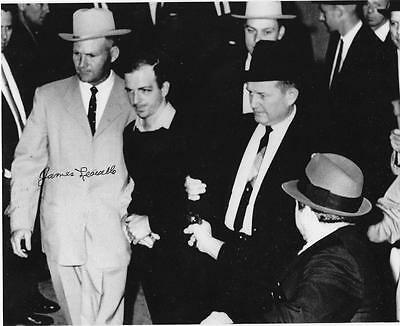1963 LEE HARVEY OSWALD /& JACK RUBY Glossy 8x10 Photo Shooting Print Poster