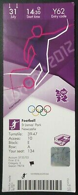 mint TICKET 13.8.2016 Olympia Rio Golf Golfe # G03