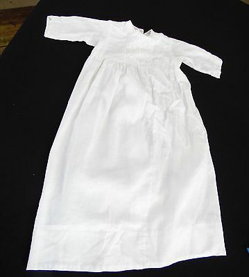 Antique/vintage 1930's Era White Baby/doll Christening Gown