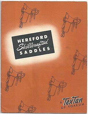 The Story of Hereford Skillcrafted Saddles by TexTan of Yoakum