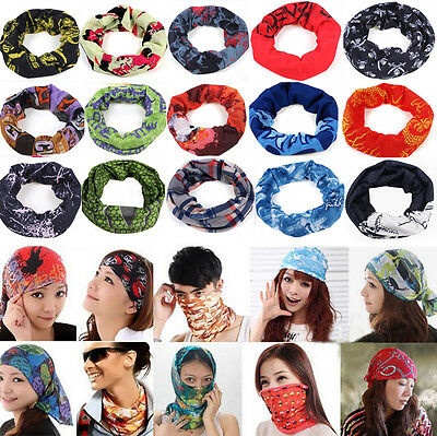 New 2016 Cycling Bicycle Outdoor Sport Multi Head Scarf Magic Headband Face Mask