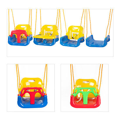 Baby Toddler Deluxe Swing Seat Climbing Frame Set Tree With Adjustable Ropes UK
