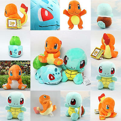 Rare Pokemon Collectible Plush Character Soft Toy Stuffed Doll Teddy Gift XMAS