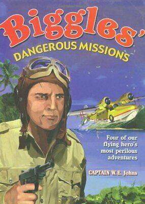 Biggles' Dangerous Missions by Johns, W. E. Paperback Book The Cheap Fast Free