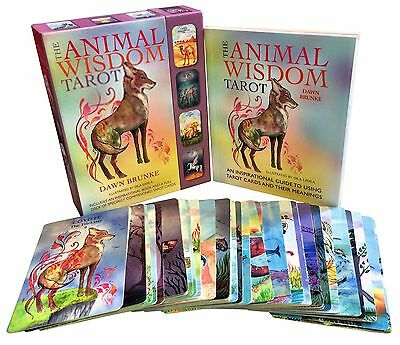 The Animal Wisdom Tarot Deck Cards Collection Box Gift Set Pack