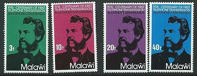 Malawi Sg520/3 1976 Cent Of The Telephone Mnh