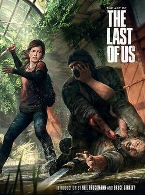The Art of the Last of Us by Naughty Dog Studios Hardcover Book (English)