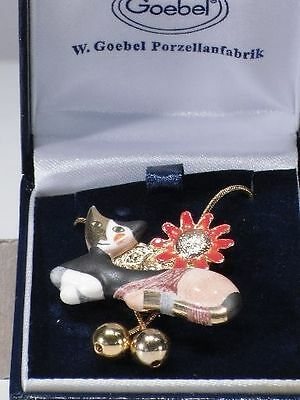 +# A006740 Goebel Archiv Muster Rosina Wachtmeister Kette Necklace Katze Cat