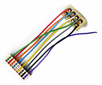 """TCS 9-Pin JST to 8-Pin NMRA Decoder Harness 1.0"""" 1359"""