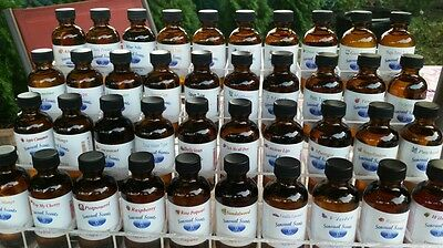 Any 12 (2 Oz) fragrance oil bottles by Sensual Scents for candles, soap and difu