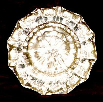 1 Antique Crystal Door Knob Mercury Glass Victorian Architectural Salvage #7