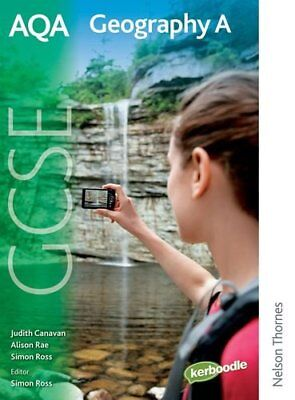 AQA GCSE Geography A: Student Book, Rae, Alison Paperback Book The Cheap Fast
