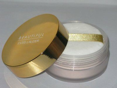 Estee Lauder BEAUTIFUL Perfumed Body Powder 1oz Perfume Scent w/ Puff NEW Sealed