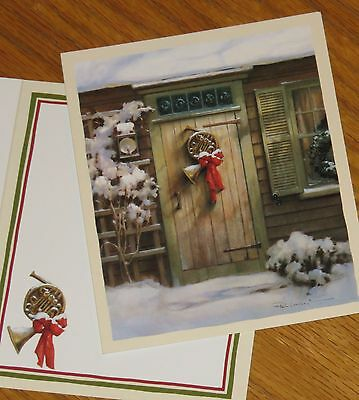 Holiday Harmony Paul Landry Artwork 1998 Lang Christmas Note Cards 5ct