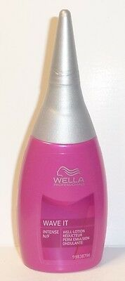 Wella Well-Lotion WAVE IT Intense pour normal et dur wellbares cheveux. 75ml
