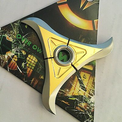 Overwatch OW Genji Rotatable darts Weapons Cosplay Costume Accessory Toy New