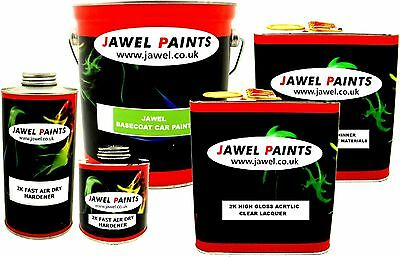 Basecoat Car Paint ANY COLOUR MIXED TO YOUR PAINT CODE 9 Litre kit