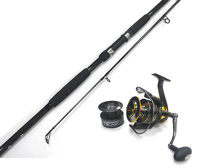 Spod Rod & Reel DEAL - Wild Spod 5lb TC & 8000FD Spod Reel - Carp Fishing Combo