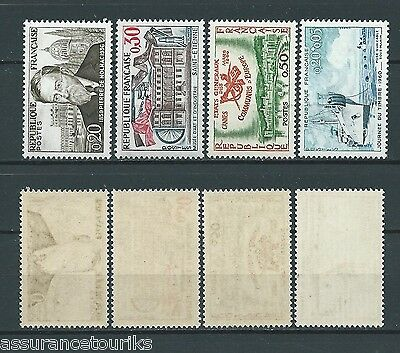 FRANCE - 1960 YT 1242 à 1245 - TIMBRES NEUFS** LUXE