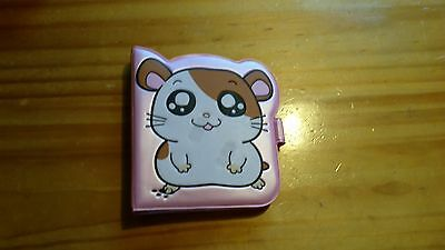Hamtaro Hamster date month mini organizer, unused.