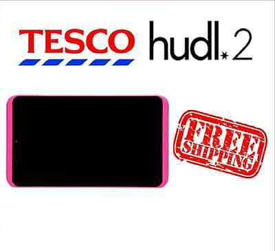 Tesco Hudl 2 Pink Replacement Full Screen LCD Digitizer Assembly Used Grade B