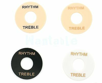 Rythm Treble Ring Plate Selector Switch Surround For Gibson Epiphone Les Paul SG