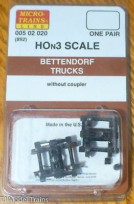Micro-Trains Line #00502020 (892) Bettendorf Trucks without Coupler (HOn3 Scale)