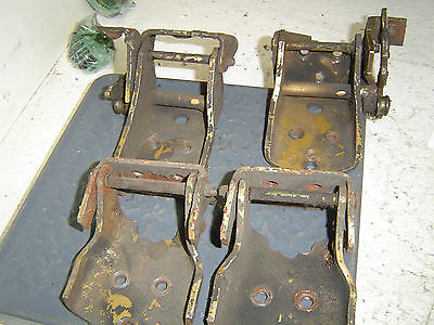 1978 Pontiac Trans Am Door Hinges - 2 Upper - 2 Lower