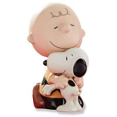 Lenox Peanuts Lots of Hugs Figurine Snoopy Charlie Brown New in Box
