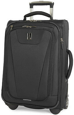 """Travelpro Luggage Maxlite 4 22"""" Expandable Rollaboard Carry On - Black"""