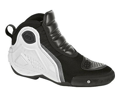 Dainese Motorcycle Dyno Boots Black White Size EU 43