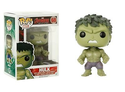 Funko Pop Marvel: Avengers Age of Ultron - Hulk Vinyl Bobble-Head Item #4776